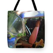 Behind The Driver's Seat Tote Bag