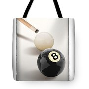 Behind The Eight Ball Tote Bag