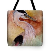 Behind The Grasses Tote Bag