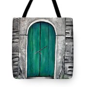 Behind The Green Door Tote Bag