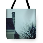 Behind The House Tote Bag by Margie Hurwich