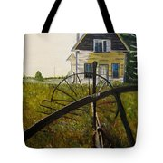 Behind The Old Church Tote Bag