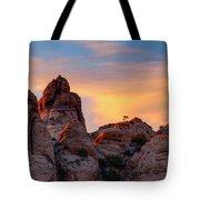 Behind The Rocks Tote Bag