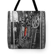 Behind The Scenes - Mono Tote Bag