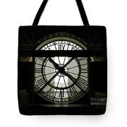Behind Time Tote Bag