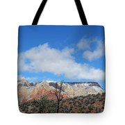 Behold The Blue Sky Tote Bag