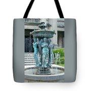 Beiger Mansion Fountain  Mishawaka Indiana Tote Bag