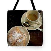 New Orleans Beignets And Coffee Au Lait  Tote Bag