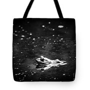 Being Green In Black And White Tote Bag