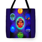 Life Force Connection Tote Bag