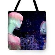 Bejeweled Blondes Tote Bag