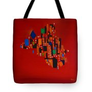 Bejeweled City Tote Bag