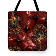 Bejewelled Crimson Tote Bag