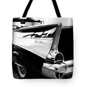 Bel Air Bw Palm Springs Tote Bag by William Dey