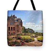 Belfast Castle Cat Garden Tote Bag