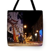 Belgium Street Art Tote Bag by Juli Scalzi
