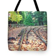 Belgrave Puffing Billy Railway Track Tote Bag