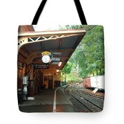 Belgrave Train Station Tote Bag