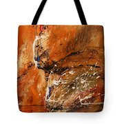 Believe In Dreams - Abstract Art Tote Bag