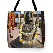 Bell At The Temple Of The 64 Yoginis - Jabalpur India Tote Bag