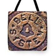 Bell Medallion Tote Bag