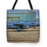 Bell P-59 Airacomet Tote Bag