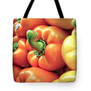 Bell Pepper Stack Tote Bag