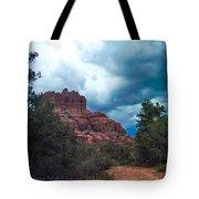 Bell Rock Drama Sky Tote Bag