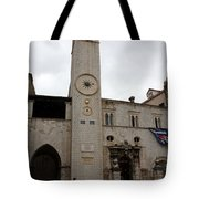 Bell Tower At Luza Square Tote Bag