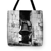 Bell Tower Valbonne Abbey Tote Bag by Christine Till