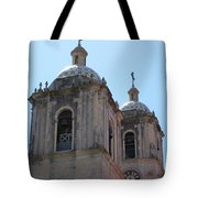 Bell Towers Tote Bag