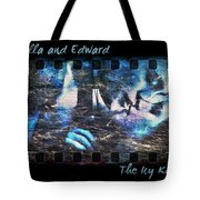 Bella And Edward - The Icy Kiss Tote Bag