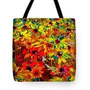 Bella Flora Painting Tote Bag