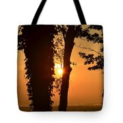 Bella Vista Sunset 3 Tote Bag