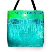Bellagio Fountains Las Vegas Tote Bag