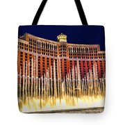 Bellagio Water Show Tote Bag