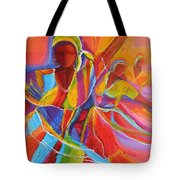 Belle Dancers Tote Bag