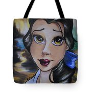 Belle In A Da Vinci Style Tote Bag