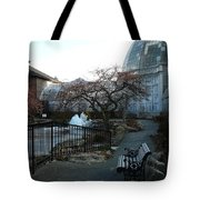 Belle Isle Conservatory Courtyard Tote Bag