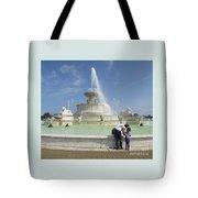 Belle Isle Fountain Splash Tote Bag