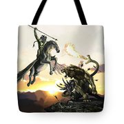 Bellephron Slays Chimera Tote Bag