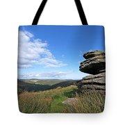 Bellever Tor On Dartmoor Tote Bag