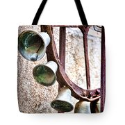 Bells In Sicily Tote Bag by David Smith