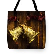 Bells Of Christmas Joy Tote Bag
