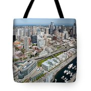 Belltown In Downtown Seattle Tote Bag