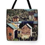 Belmont Town Tote Bag