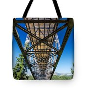 Below A Bridge Tote Bag