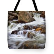 Below Alberta Falls II Tote Bag