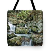 Below Mina Sauk Falls 1 Tote Bag
