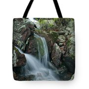 Below Mina Sauk Falls 4 On Taum Sauk Mountain Tote Bag